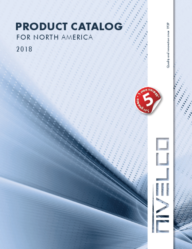 Nivelco Product Catalog 2018 For North America Circuit Schematic Diagram Pt100 Rtd Current Loop Transmitter Using Xtr105